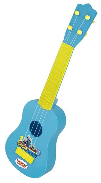Thomas The Tank Engine & Friends Blue & Yellow Plastic Guitar - 3+ years